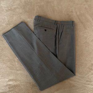 Hugo Boss Gray Trousers Men's 30 32